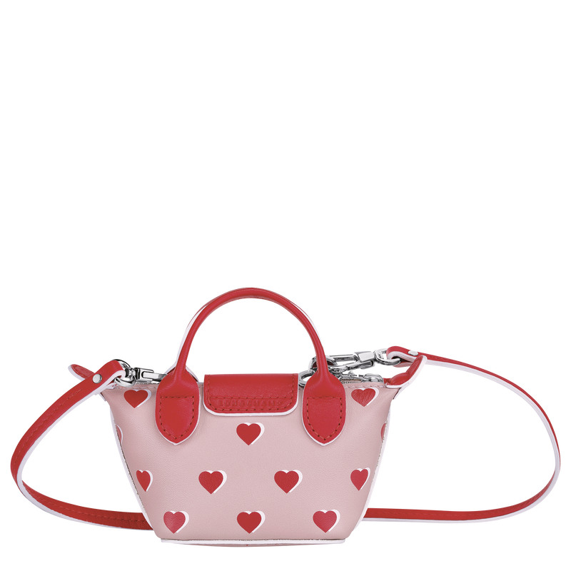 Crossbody bag XS, Pinky - View 3 of  3 - zoom in