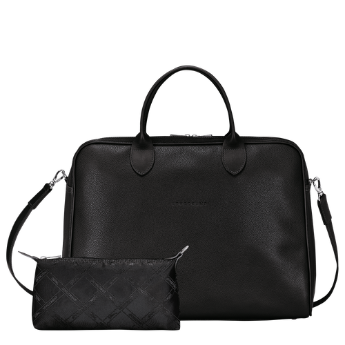 Briefcase L, Black - View 4 of  4.0 -