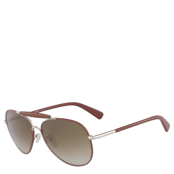 Sunglasses, Gold/Bourbon, hi-res - View 2 of 2