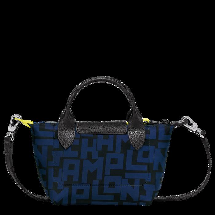 Le Pliage LGP 手提包 XS, 黑色/海軍藍色