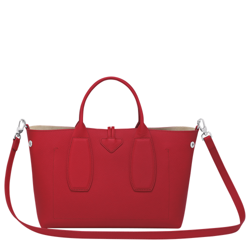 Top handle bag M, Red, hi-res - View 4 of 5