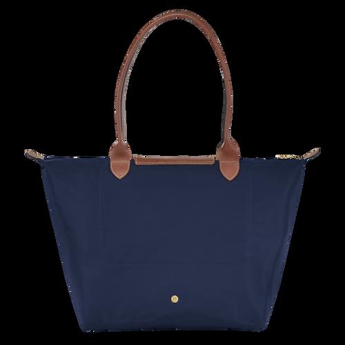 Shoulder bag L, Navy, hi-res - View 3 of 4