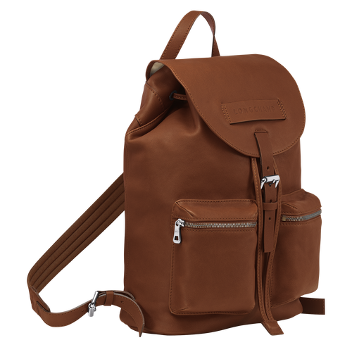 Backpack M, Cognac, hi-res - View 2 of 3
