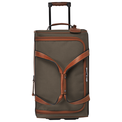 View 1 of Wheeled travel bag S, Brown, hi-res