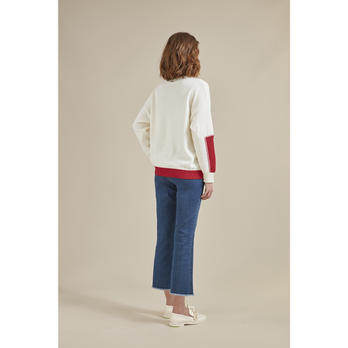 Fall-Winter 2021 Collection Pullover, Ivory