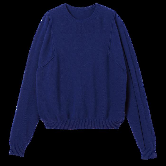 Pullover, Blau - Ansicht 2 von 2 - Zoom vergrößern