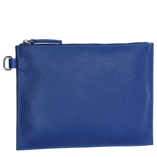 View 2 of Essential Pouch, Cobalt, hi-res