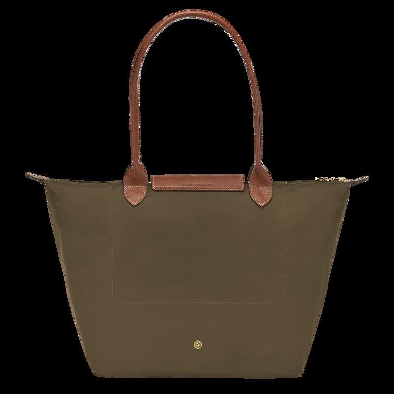 Shoulder bag L, Khaki - View 3 of  4 - zoom in