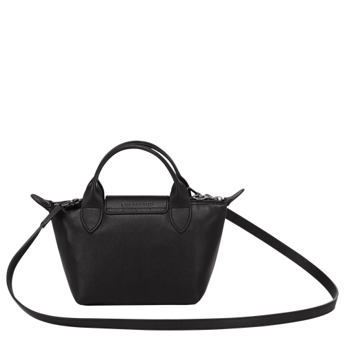 Top handle bag, Black, hi-res - View 3 of 3