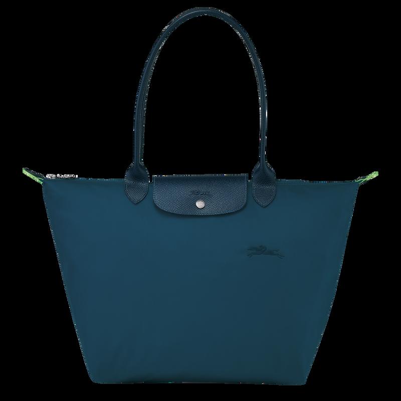 Le Pliage Green Shoulder bag L, Ocean