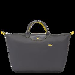 Travel bag L, Gun metal