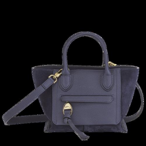 Top handle bag S, Navy - View 1 of  3 -