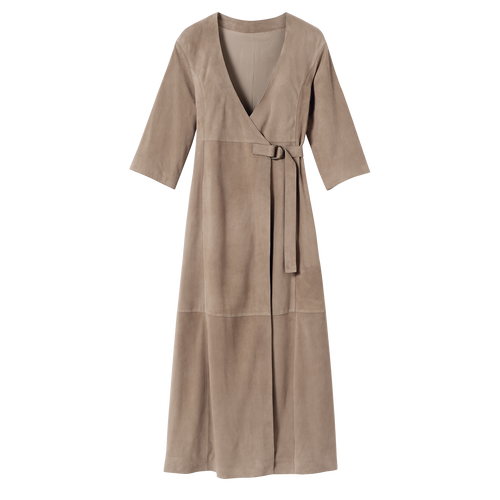 2021 秋冬系列 連身裙, 斑鳩色