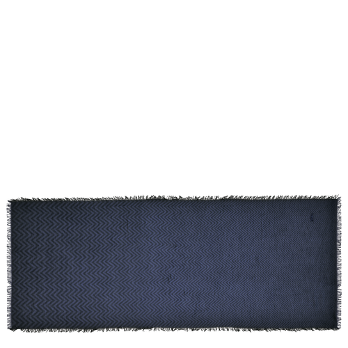Schal, B57 Schwarz/Marine, hi-res