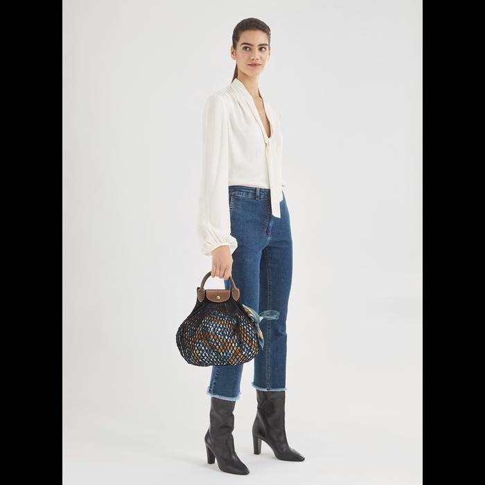 Top handle bag Le Pliage filet Khaki (10121HVH292) | Longchamp US