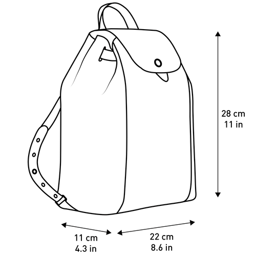 Backpack, Navy - View 5 of  5 -