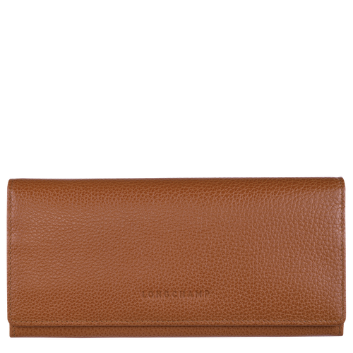 Long continental wallet, Caramel, hi-res - View 1 of 2