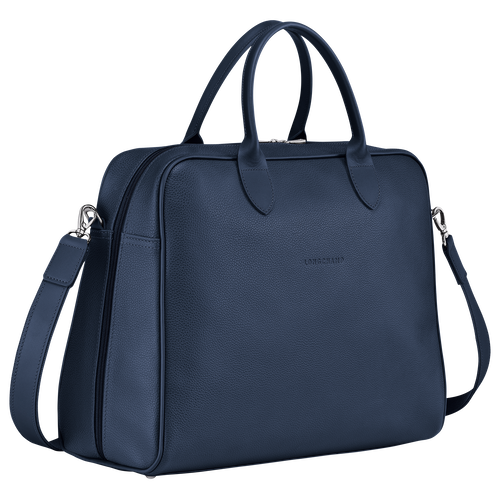 Briefcase L, Navy - View 2 of 4 -