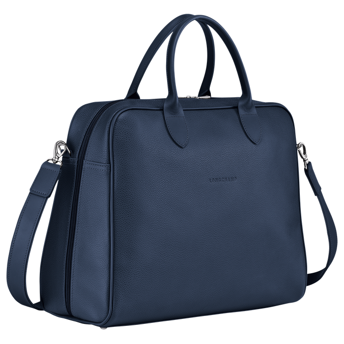 Briefcase L, Navy - View 2 of 4 - zoom in