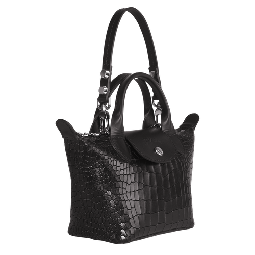 Top handle bag XS, Black/Ebony - View 2 of 3 -