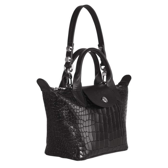 Top handle bag XS, Black/Ebony - View 2 of 3 - zoom in