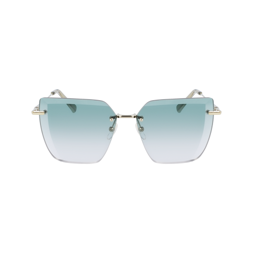 Sunglasses, Gold Green - View 1 of  2 -
