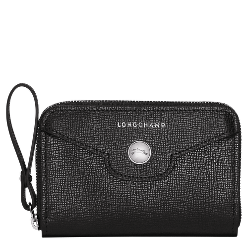 Coin purse, 001 Black, hi-res
