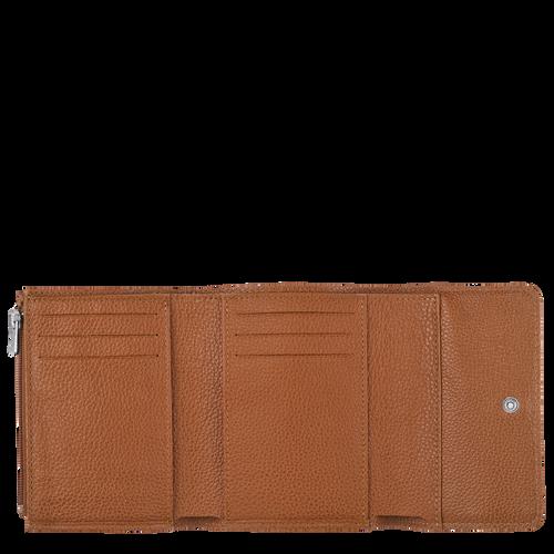 Le Foulonné Compact wallet, Caramel