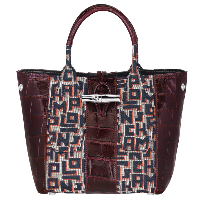 Top handle bag, Mahogany - View 2 of 4 - zoom in