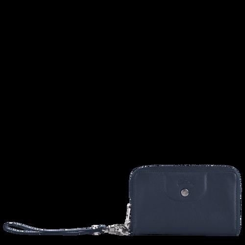Portefeuille compact, Navy - Vue 1 de 2 -
