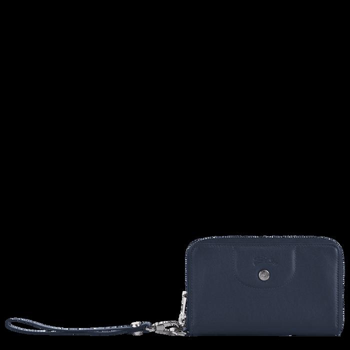 Portefeuille compact, Navy - Vue 1 de 2 - agrandir le zoom