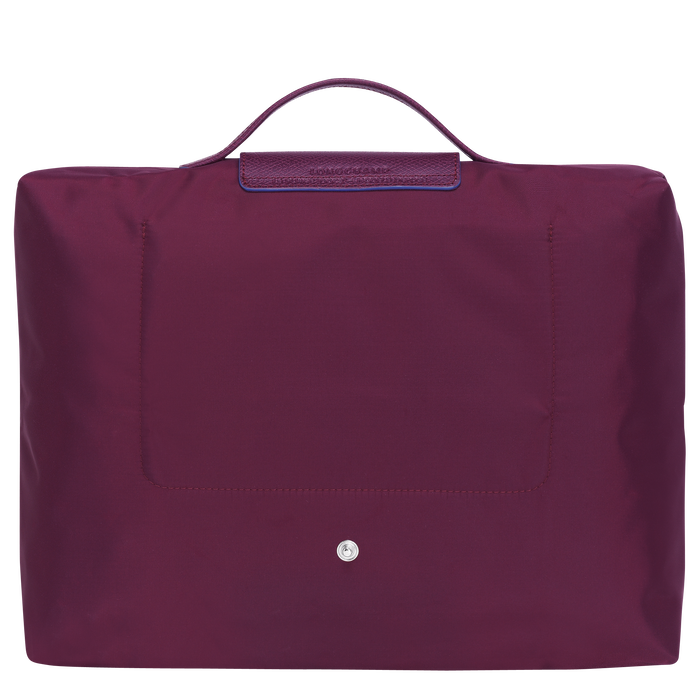 Briefcase, Plum, hi-res - View 3 of 4