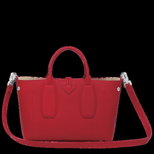 Top handle bag M, Red, hi-res - View 4 of 5