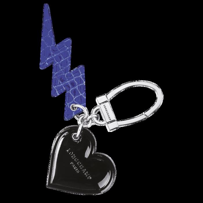 Le Pliage Cuir Key-rings, Blue/Black