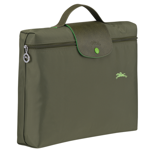 Briefcase S, Longchamp Green - View 2 of  5 -