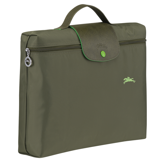 Briefcase S, Longchamp Green - View 2 of  5 - zoom in