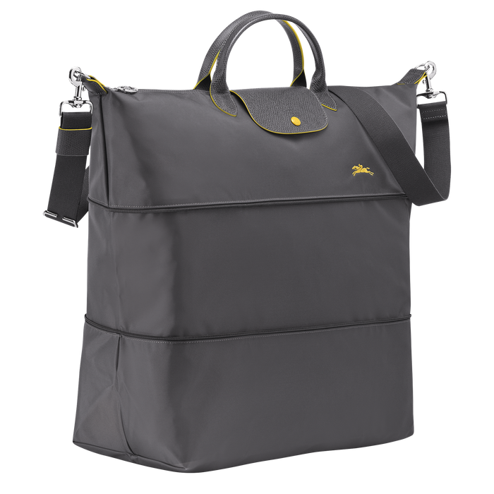 Le Pliage Club Travel bag, Gun metal