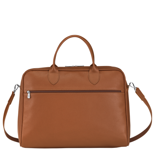 Briefcase L, Caramel - View 3 of  4 -