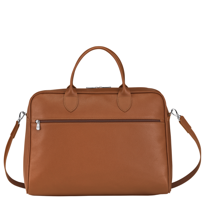 Briefcase L, Caramel - View 3 of  4 - zoom in