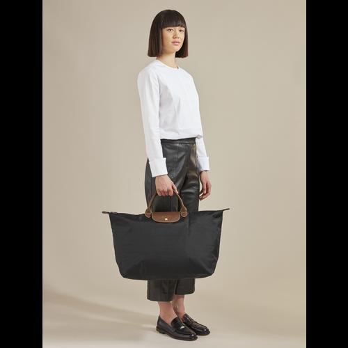 Le Pliage 旅行袋 L, 白紙色