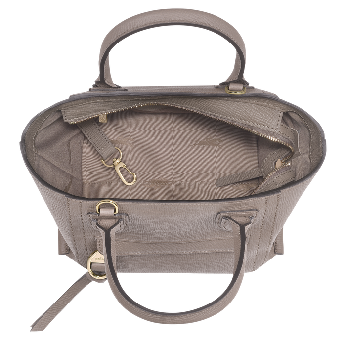 Top handle bag S, Taupe - View 4 of  4.0 - zoom in