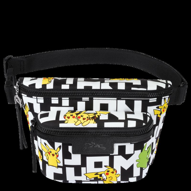 Belt bag M, Black/White - View 1 of  2 - zoom in
