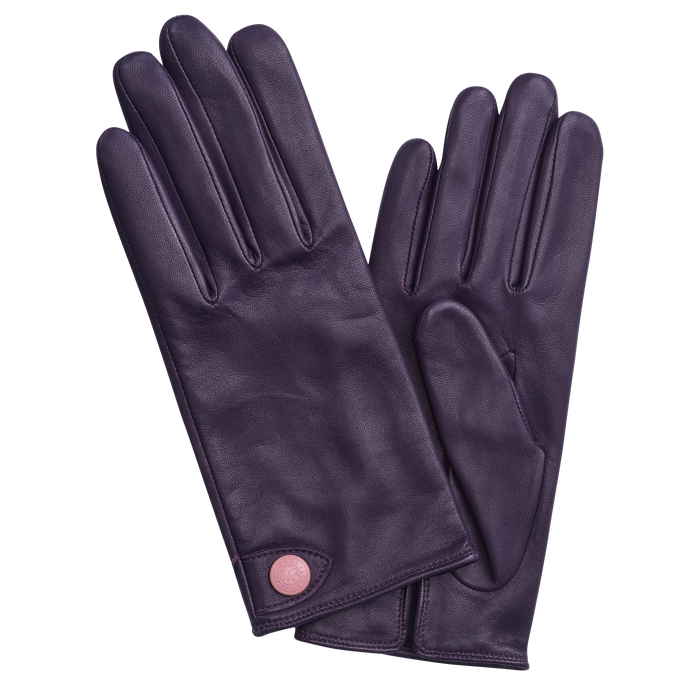 Ladies' gloves, Bilberry - View 1 of  1 - zoom in