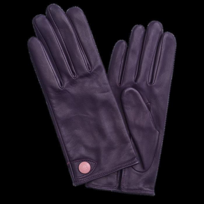 Damenhandschuhe, Heidelbeere - Ansicht 1 von 1 - Zoom vergrößern