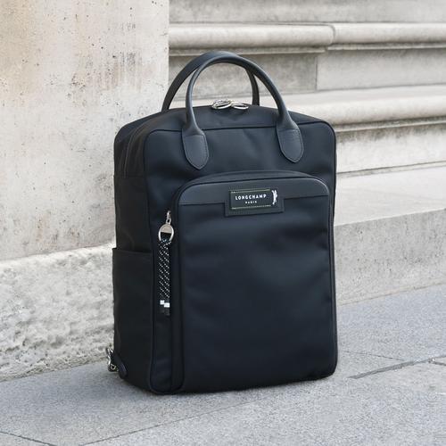 Green District Backpack, Black