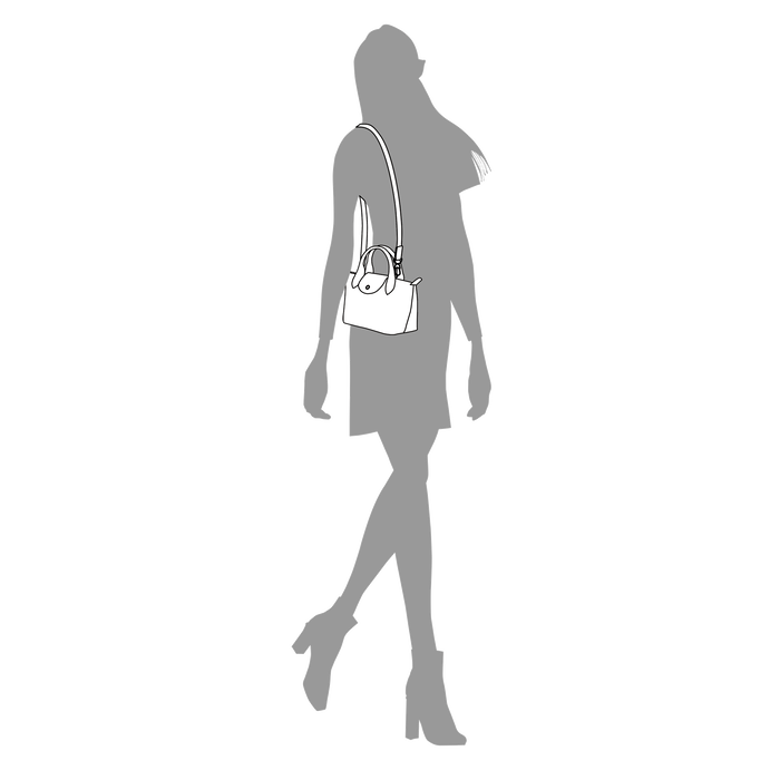 Top handle bag XS, Black/Ebony - View 4 of  6 - zoom in