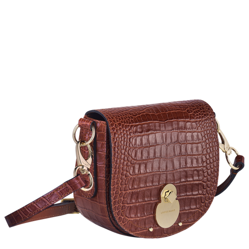 Crossbody bag, Cognac - View 2 of  3 -