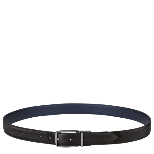 Men's belt, Black/Navy - View 1 of  1 -