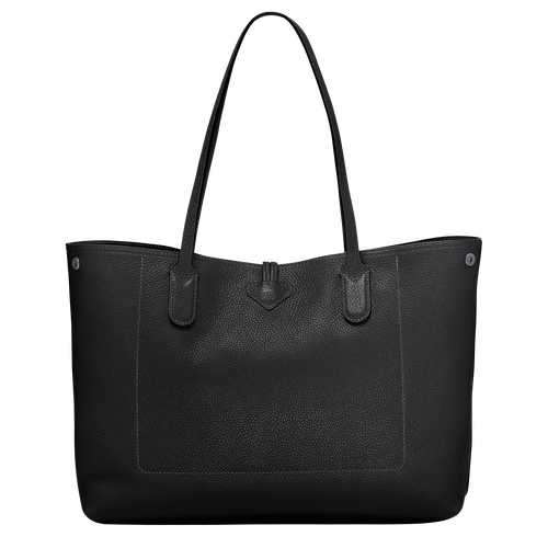 Essential Shoulder bag L, Black, hi-res - View 3 of 3