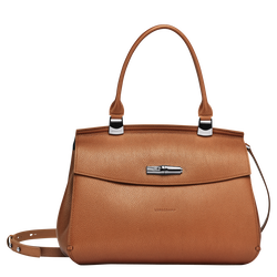 Top handle bag M, 121 Caramel, hi-res
